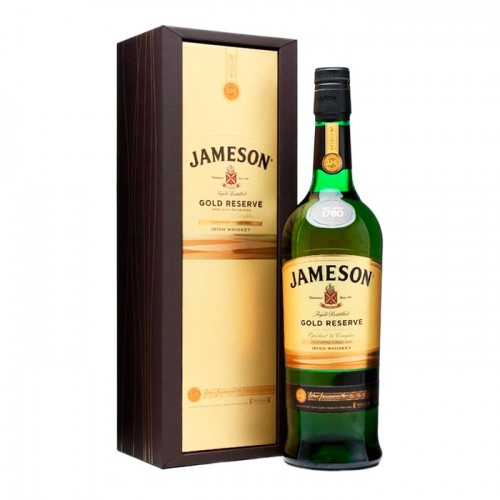 Whisky Jameson Gold Reserve 750 Estuche